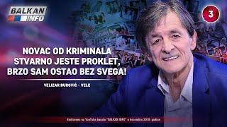 INTERVJU: Velizar Đurović - Novac od kriminala je proklet, brzo sam ostao bez svega! (15.12.2019)