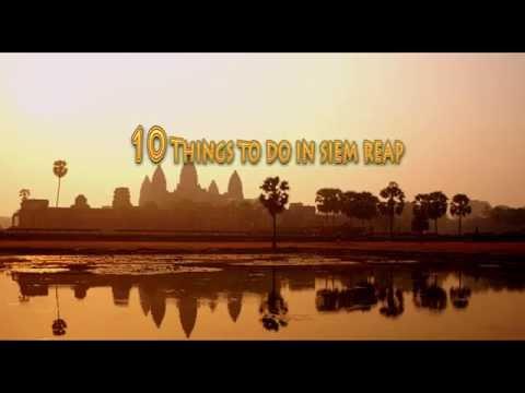 Top Ten Things to do in Siem Reap - Visit Angkor Watt - Cambodia