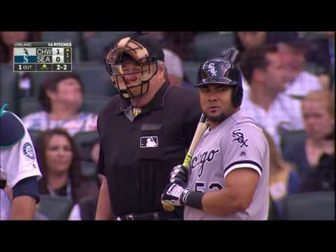 July 18, 2016-Chicago White Sox vs. Seattle Mariners