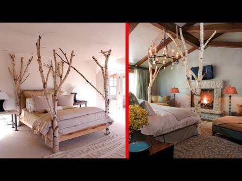 Creative Tree Branches Decor Ideas | DIY Branch Tree House Interior Decoration Ideas 2017