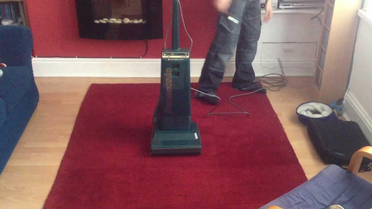 Panasonic Mc E47 Vacuum Cleaner Updated Youtube
