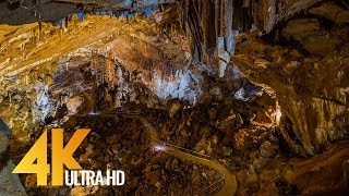 4K Caves in Europe - The Underground World of Europe - Nature Relax Video