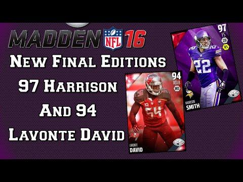 MUT 16 | Final Edition 97 Harrison Smith | 94 Lavonte David