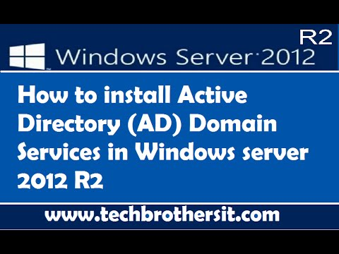 How To Install Active Directory (AD) Domain Services In Windows Server 2012 R2