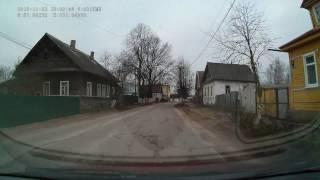 По улицам города Старая Русса (22.11.2016 г.)