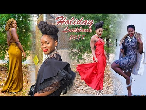 Holiday Lookbook 2017 | What To Wear For New Year Celebration | Style Ideas