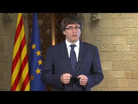 euronews (en français): Catalogne : une semaine décisive attend l'Espagne