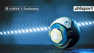 Uhlsport Elysia Hexagon The New Official Match Ball Of The Ligue 1 Conforama Youtube