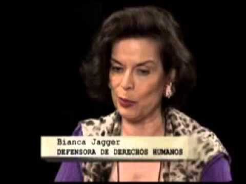 Entrevista a Bianca Jagger primera parte