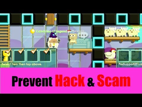Growtopia #209 - Prevent Hack and Scam