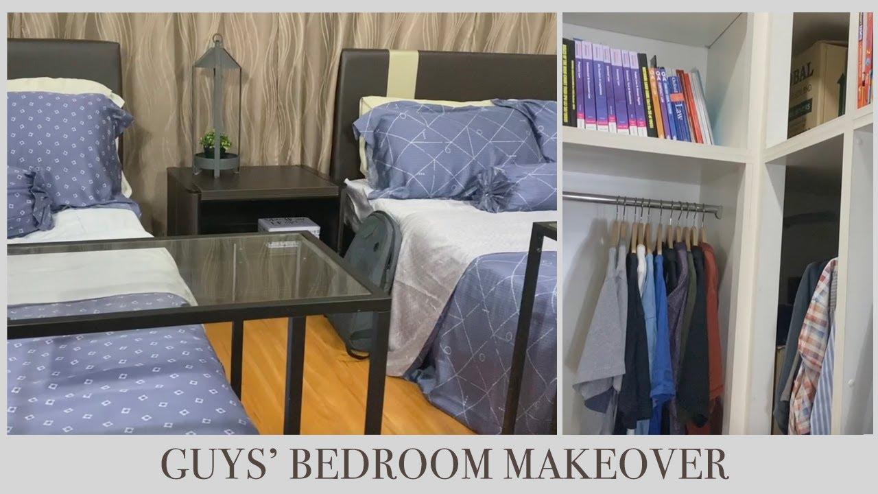 NEW! GUYS' BEDROOM MINI MAKEOVER