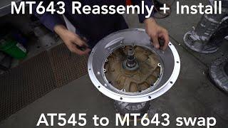 ALLISON REBUILT MT643 - Reassembly + DYNO test. AT545 Swap.
