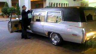 First hearse vallet parking at the Sutton Place Hotel