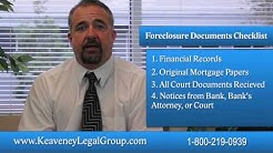 East Brunswick, NJ | Stop Foreclosure! A Checklist of What You'll Need | New Brunswick