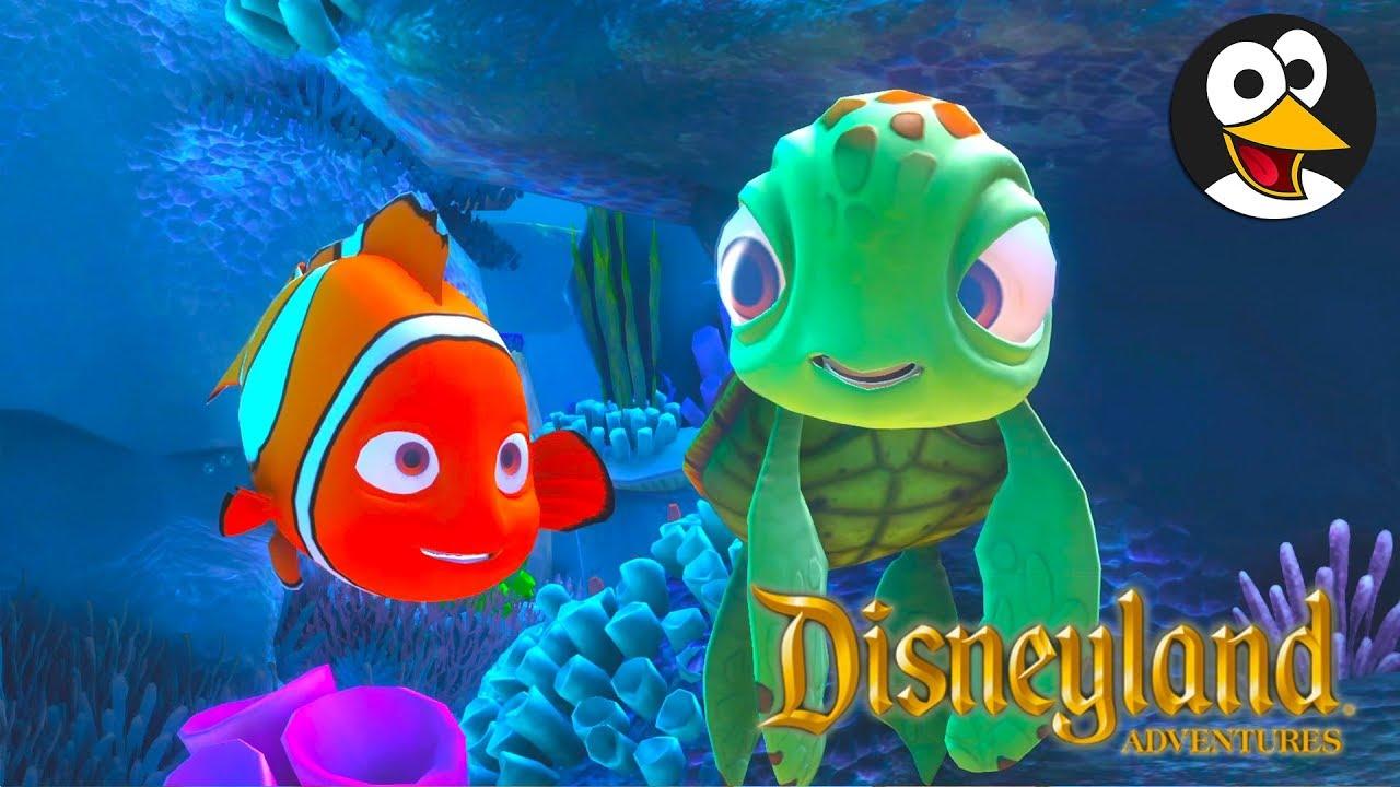 海底總動員 中文字幕 英文配音 | 兒童遊戲影片 | 迪士尼卡通 電動遊戲視頻 | 電玩動畫 英語版 電子遊戲 - YouTube