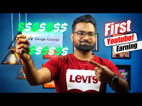 My First Youtube Earning and Giveaway | How much Youtube pays for a video?  [ Giveaway Alert ]