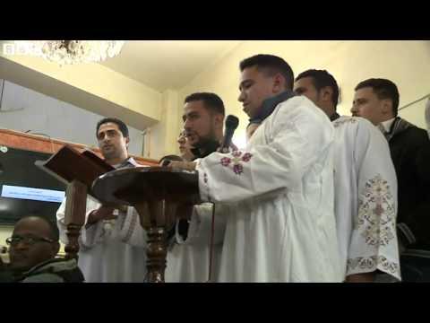 【BBC】 コプト教信者21人殺害に地元悲嘆、エジプトは報復