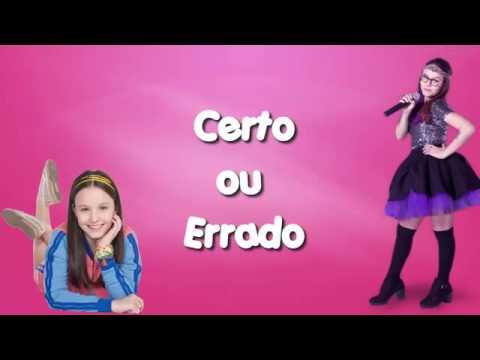Certo Ou Errado - Cúmplices de Um Resgate (Brasil) (letra da música) - Cifra  Club 130ab6a21f