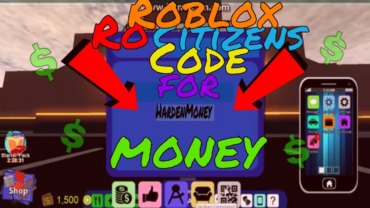 Roblox Rocitizens Codes List