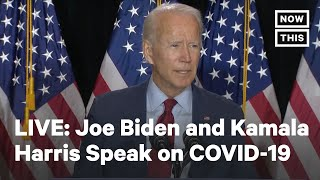 Joe Biden and Kamala Harris Deliver Remarks on COVID-19 Pandemic | LIVE | NowThis