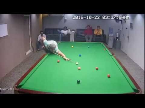 Amazing world snooker by CCTV