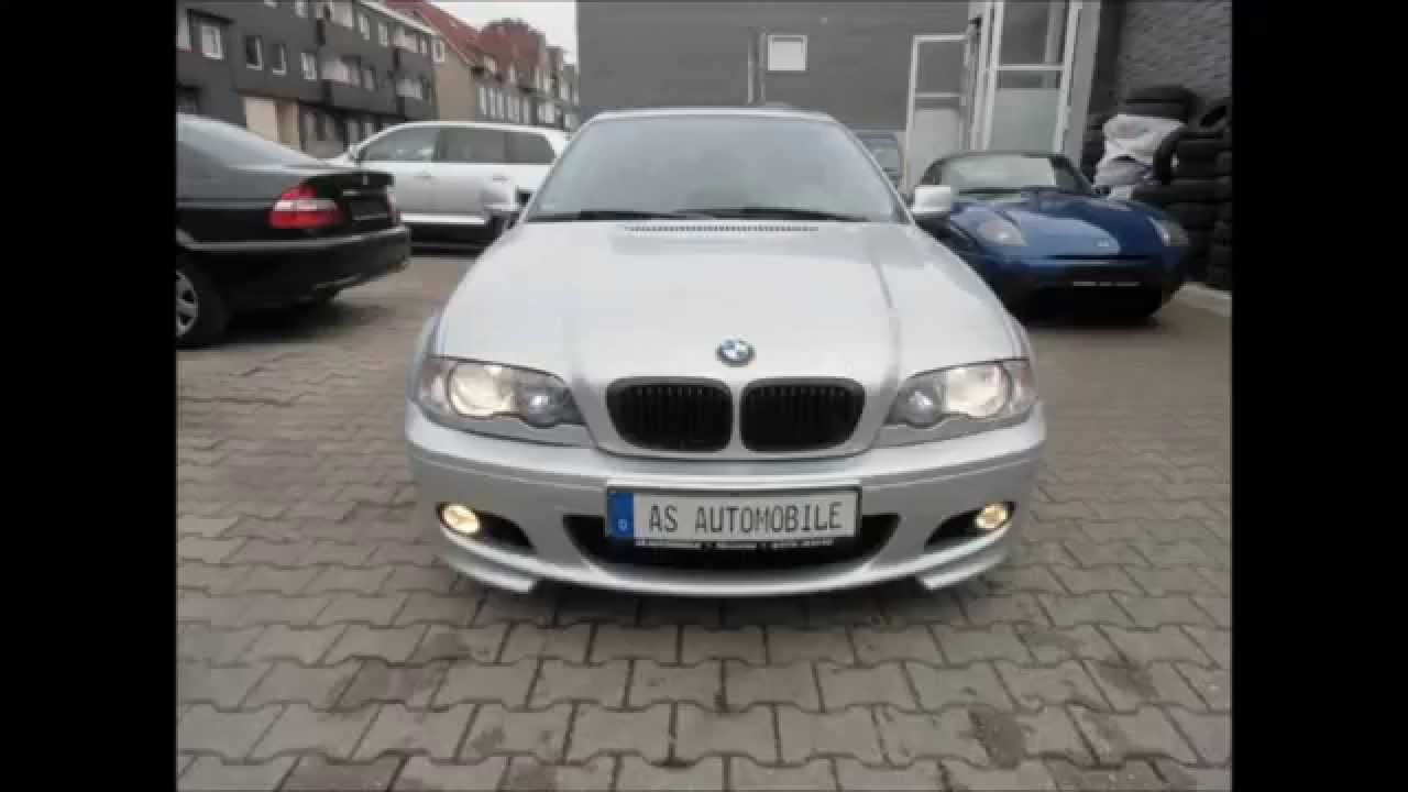 bmw e46 m paket 2 as automobile remscheid lennep youtube. Black Bedroom Furniture Sets. Home Design Ideas