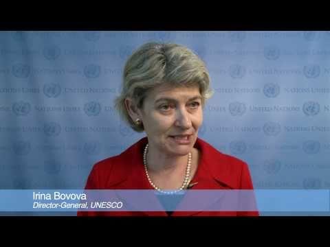 Education for All: Irina Bokova, UNESCO