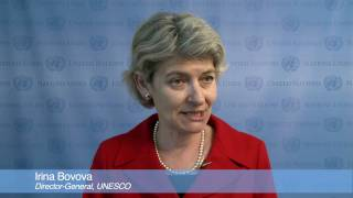 Education for All: Irina Bokova, UNESCO