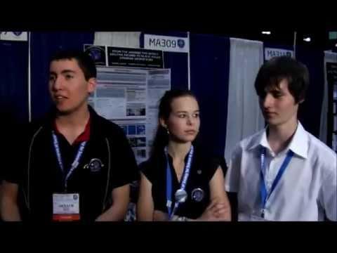 L'équipe de Miramas à l'ISEF 2011