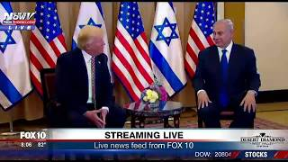 WATCH: President Trump Meets with Prime Minister Netanyahu in Israel
