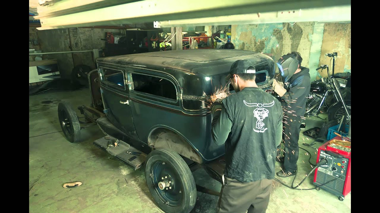 28 Chevy Tudor Sedan Top Chop Hot Rod Youtube
