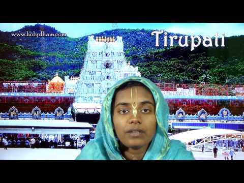 Tirupati - Srila Prabhupada's pastimes in Tirupati Dham