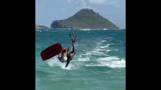 Surfing Tricks with the Kitesurfing Instructors at Coconut Bay Beach Resort & Spa in Saint Lucia
