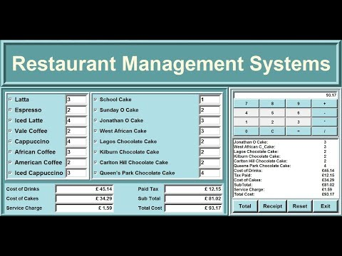 How to Create an Advanced Restaurant Management Systems in Python - Full Tutorial thumbnail