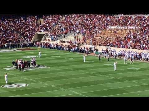 Aggie War Hymn At Texas A&M Spring Game 2018 With Dat Nguyen