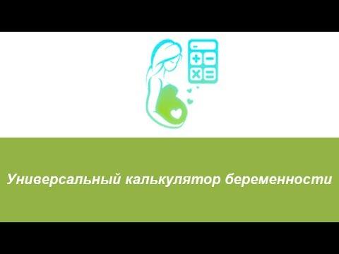 Универсальный калькулятор беременности (гестационный круг)