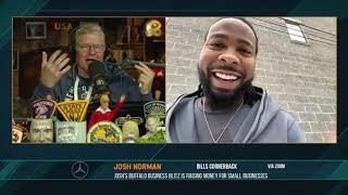 Does Josh Norman care about getting stiff armed by Derrick Henry? 01/19/21