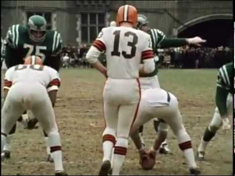 1966 Browns at Eagles Game 13