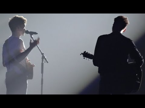 The Vamps - Girls On TV (Connor & James) - Sheffield Arena 2018