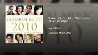 Waltzes: No.11 in G flat major Op.70 No 1
