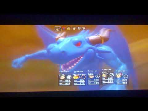 #68 Blue Dragon) Still running Around Level1
