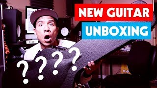 New Guitar Day - Unboxing and First Impressions | D'Angelico Deluxe DC Semi Hollow