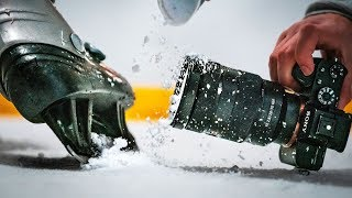 High Speed ICE SKATING Photography !