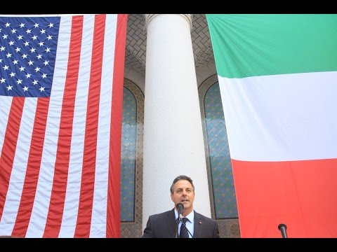 Italian-American Heritage Month Celebration in Los Angeles City Hall