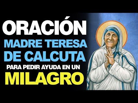 🙏 Oración a la Madre Teresa de Calcuta PARA PEDIR LA AYUDA DE UN MILAGRO 🙌