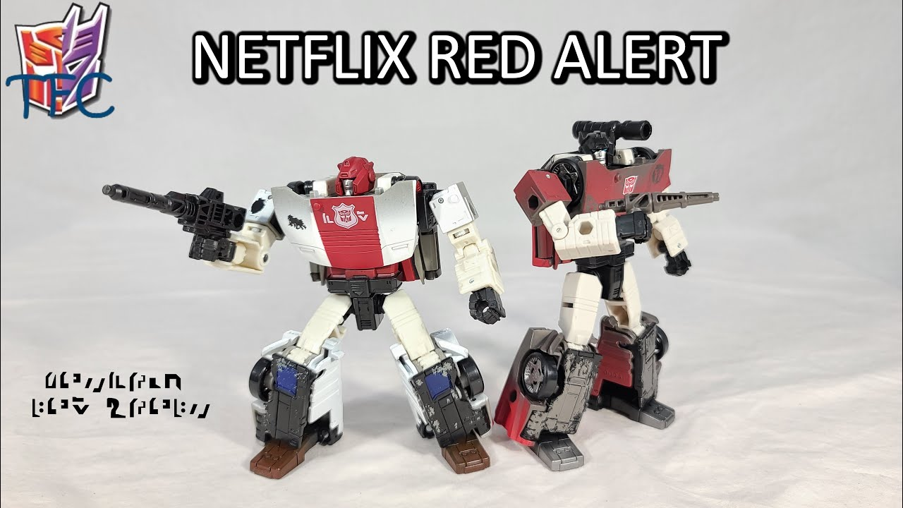 TF Collector Netflix WFC Red Alert Review!