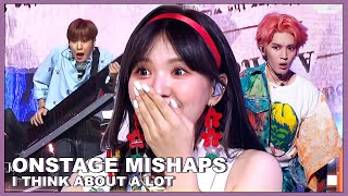 funny onstage mistakes/accidents i think about a lot (pt 1)
