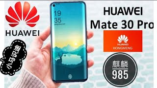 5G huawei mate 30 pro 2019, Kirin985, Hong Meng OS ?