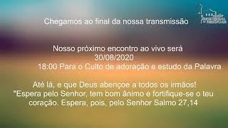Live IPH 30/08/20 - Culto matutino