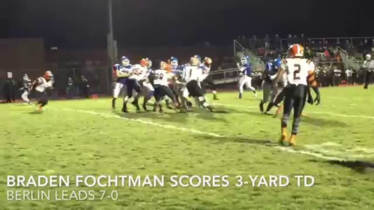 Berlin Brothersvalley Stuns Clairton In Piaa Football Playoffs Youtube